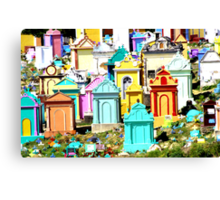 A colourful way to go Canvas Print