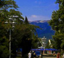 Yalta's Main Drag by Jon Ayres