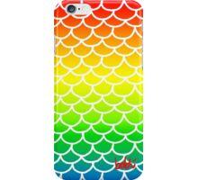 Fish Scales Rainbow iPhone Case/Skin