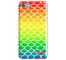 Fish Scales Rainbow iPhone Case/Skin