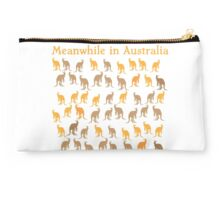 Meanwhile in AUSTRALIA with many kangaroos Studio Pouch
