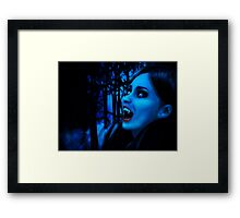Night of vampires 2 Framed Print