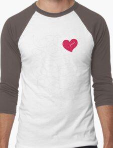 Love quiz Men's Baseball ¾ T-Shirt