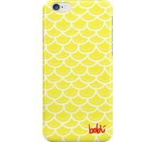 Fish scales yellow iPhone Case/Skin