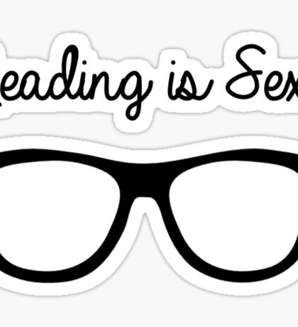 Reading is the New Sexy Sticker