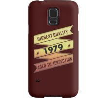 Highest Quality 1979 Aged To Perfection Samsung Galaxy Case/Skin