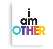 I Am Other Canvas Print