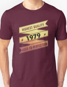 Highest Quality 1979 Aged To Perfection T-Shirt