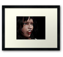 Night of vampires 4 Framed Print