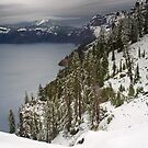 Crater Lake by Flibble
