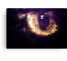 Scary monster's eye Canvas Print