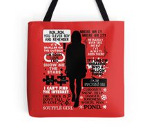 Doctor Who - Clara (Oswin) Oswald Quotes Tote Bag