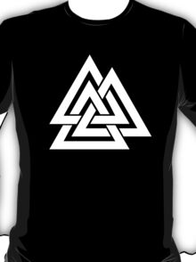 Walknut / Valknut - Wotan's Knot / Odins Knot T-Shirt