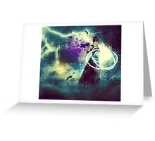 Swamp Witch 2 Greeting Card