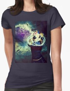 Swamp Witch 4 Womens Fitted T-Shirt