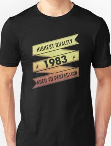 Highest Quality 1983 Aged To Perfection T-Shirt