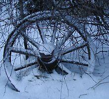 Winter Wagon Wheel by Lillian Reichert