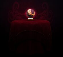 Table and magic ball by AnnArtshock