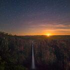 Moonrise at Wallaman Falls by PhotoByTrace