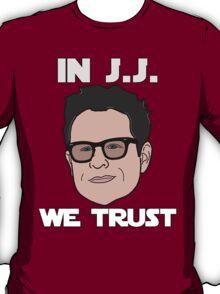 In J.J. We Trust - Bobble Head T-Shirt