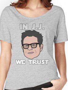 In J.J. We Trust - Bobble Head Women's Relaxed Fit T-Shirt