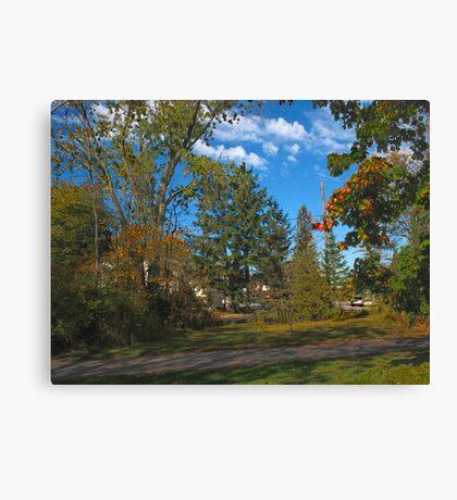Ajax trails Canvas Print