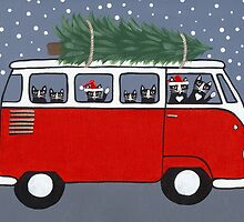 Bringing Home the Christmas Tree by Ryan Conners