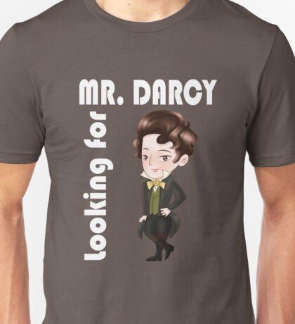 Looking for Mr. Darcy -pride and prejudice jane austen elizabeth bennet Unisex T-Shirt