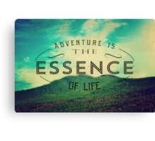 The Essence of Life Canvas Print