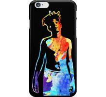Jean-Michel Basquiat Splatter  iPhone Case/Skin