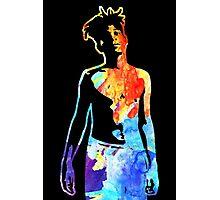 Jean-Michel Basquiat Splatter  Photographic Print