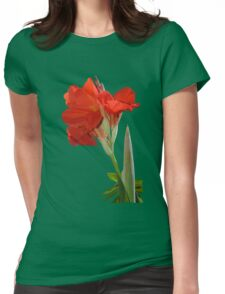 Canna Lili Womens Fitted T-Shirt