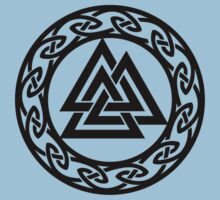 Walknut / Valknut - Wotan's Knot / Odins Knot Kids Tee