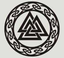 Walknut / Valknut - Wotan's Knot / Odins Knot by nitty-gritty
