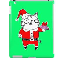 Zombie  Santa  Cat iPad Case/Skin