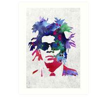 Jean-Michel Basquiat Splatter 2 Art Print