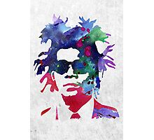 Jean-Michel Basquiat Splatter 2 Photographic Print