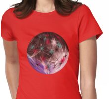 Round Light Invasion Ts Womens Fitted T-Shirt