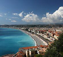 Nice Cote d'Azur by Christophe Testi