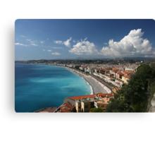 Nice Cote d'Azur Canvas Print