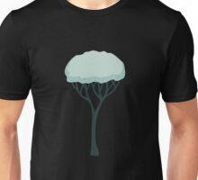 Glitch Substrata foreground tree snow Unisex T-Shirt