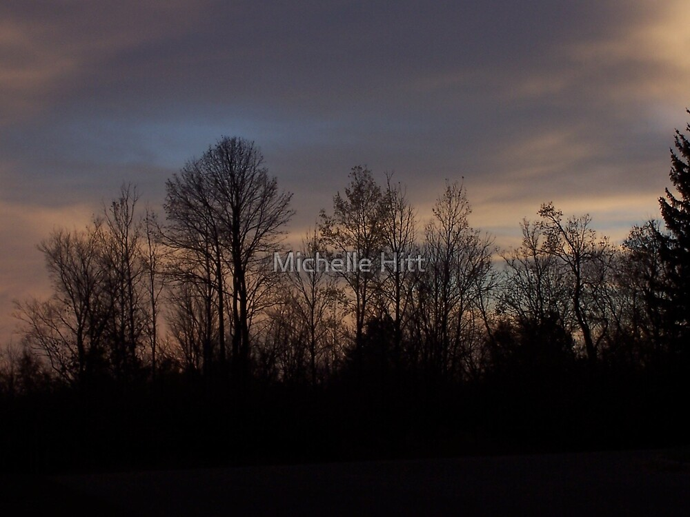 Treeline by Michelle Hitt