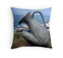 The Ocean Pitcher Provider Throw Pillow