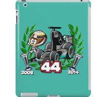 Lewis Double World Champ iPad Case/Skin