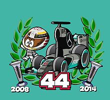 Lewis Double World Champ by docster