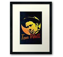 Tom Waits   Framed Print