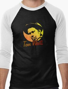 Tom Waits   Men's Baseball ¾ T-Shirt