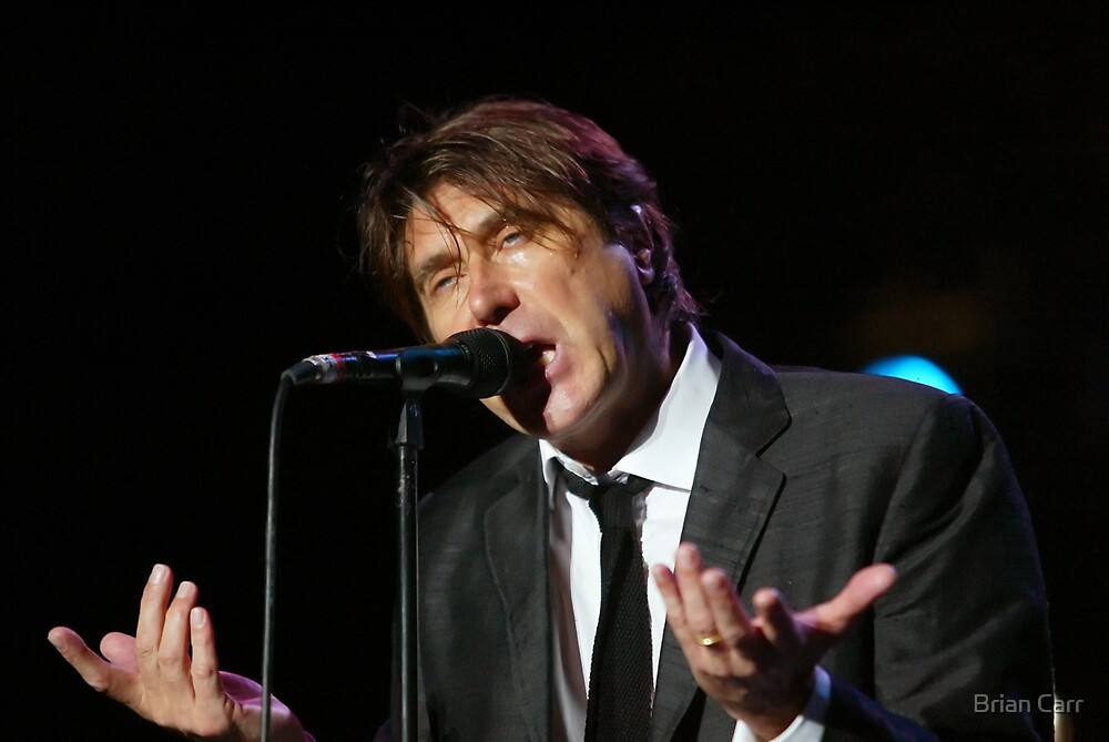 Brian Ferry in concert by Brian Carr