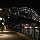 Bridge by night by norgan