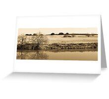 Plains de Brazos Greeting Card